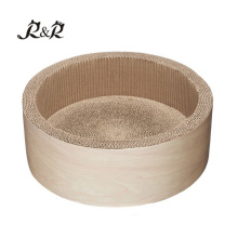 wholesale small pet supplies bed soft warm round donut cat bed RCS-8015