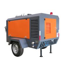 DENAIR diesel mobile air compressor for sale in South Korea