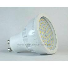 Высокий Люмен 120 градусов Лампа GU10 6 Вт SMD светодиодный Прожектор с крышкой