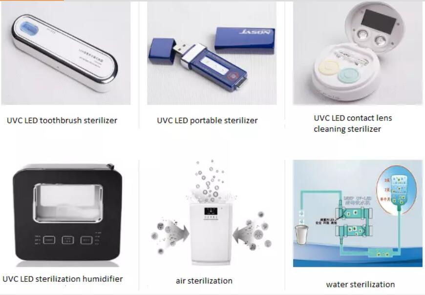 Uv C Led Strips Uvc Ultraviolet Sterilizer Wand 5m Low Voltage Flexible Uv Light Sterilization Lamp Supplier