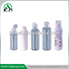 Plastic shampoo cosmetic bottle