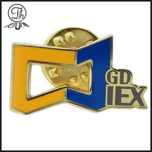 Gold Custom enamel badge design maker