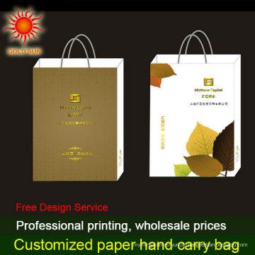 Einkaufsverpackung Papiertüte