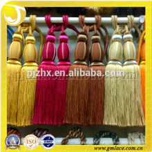 varios of colors pair tassel tieback uses on drapery, table and chairs and other home decor projects