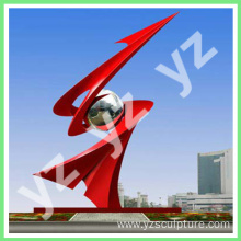 Outdoor decoration Garden 316 Stainless Steel Statue