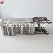 Mmo Coated Mesh Panier Platinum Plaqué Titanium Anode
