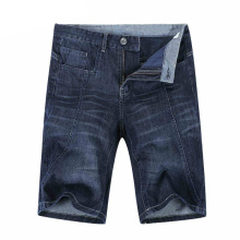 2017 homens jeans shorts moda shorts jeans algodão denim shorts