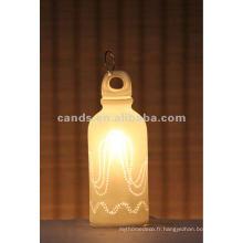 Lait de lait Accueil Céramique Art Bureau Éclairage Osram Métal Halogéner Lampe