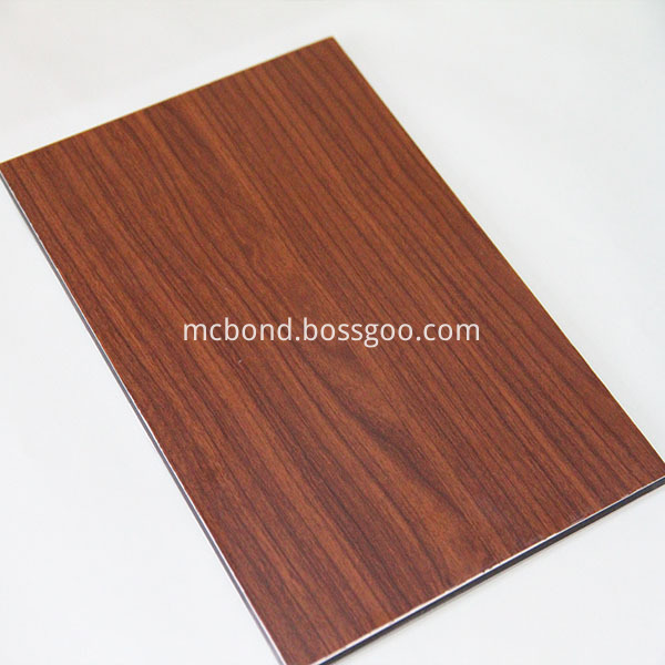 Wood Texture Aluminum Composite Panel And Acp