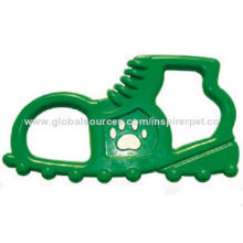 Rubber Dog Toy Shoe Handle
