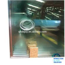 Sicherheitsglasplatte für Vorhang