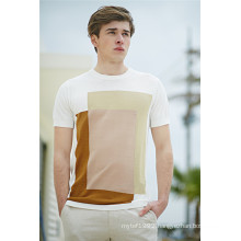 2016new Fashion Cotton Viscose Short Sleeve Men Sweater