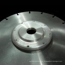 Disco de acero de la sierra de diamante con brida