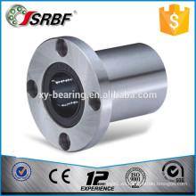 China cromo de acero de calidad ronda brida rodamientos lineales LMF25UU