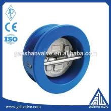wcb dual plate check valve