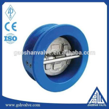 Wcb válvula de retenção dupla placa