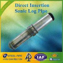 Neue Serie Direct Insertion Typ Sonic Log Pipe / Tube / Sounding Pipe (konkurrenzfähiger Preis)
