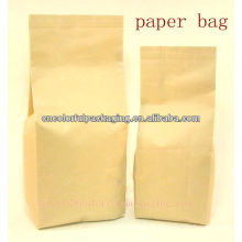 Side gusset kraft Paper food Packaging Bag