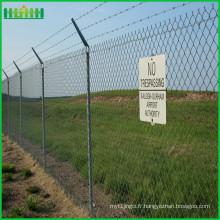 Clôture des aéroports anti-clôture en acier à haute sécurité
