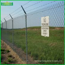 High Security Steel Matting Anti-Climb Airports Fence