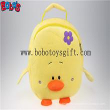 """11.8 """"Lovely Yellow Duck Kinder Plüsch Rucksack Bos-1231 / 30cm"""