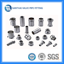 """3/4""""-4"""" Stainless Steel Ss304 Sanitary Pipe Fitting"""