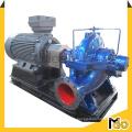 Bomba de agua de la cubierta partida de la eficacia alta 900kw 3000m3 / H