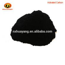 caramelo que decolora el carbón activado en polvo