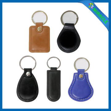 Wholesale Handmade Custom Leather Keychain for Men