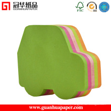 SGS Cute Different Shaped Sticky Notes Car Shaped Paper Cube