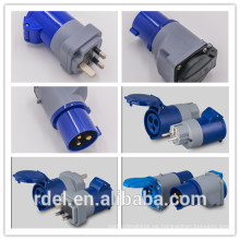 PP-01 ADAPTADOR 16A CEE EUROPA ALEMANIA ENCHUFE A UK SOCKET