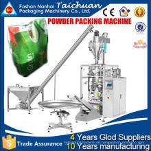 Automatische vertikale Schraube Messung beiliegende Arbeit gute Abdichtung Pulver Verpackung Maschine / Mehl Verpackungsmaschinen