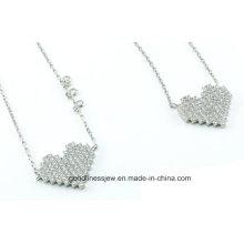 La joyería determinada vendedora caliente S3279 de la joyería de la plata esterlina del corazón 925