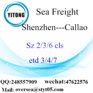 Shenzhen Port Sea Freight Shipping ke Callao