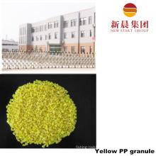 Желтый цвет восстановленный ПП гранула