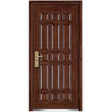 Сталь Вуд бронированные двери (HT-B-4)