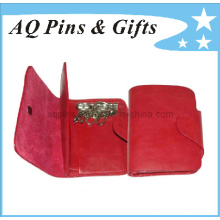 Leather/PU Key Wallet for Fashion Ladies
