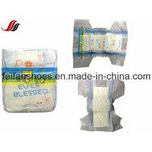 China Großhandelsgebundene Qualitäts-Baby-Windel mit Breathable Blatt für Afrika-Länder, Baby-Windel mit Soem-Marke