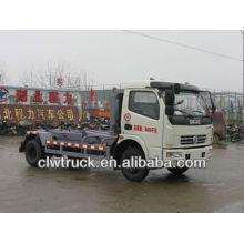 DongFeng DLK arm-roll caminhão de lixo, 6000L caminhão de lixo