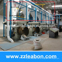 1-10 t Pro Stunde Automatische Biomasse Brennstoff Holzpellet Produktionslinie für Verkauf