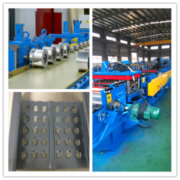 Metallkaltwalzen-Stahlblech-Kabel-Behälter-Rolle, die Maschine bildet