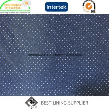 Small DOT Printed Lining Fabric for Winter Jacket