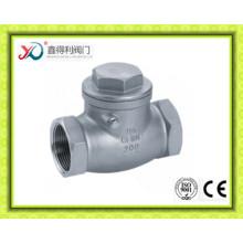 China Fábrica 200wog fundição Swing válvula de verificação de En10226