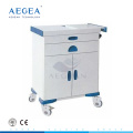 AG-ET016 Multifunction patient emergency treatment clinic movable hospital ward trolley