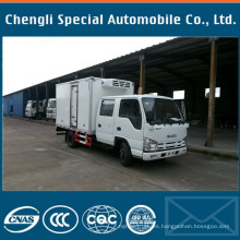 Cn Quality 4X2 Double Cabin Isuzu Refrigerator Lorry