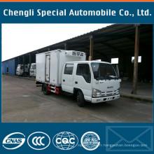 Camion de réfrigération Isuzu double cabine 4X2 de qualité Cn