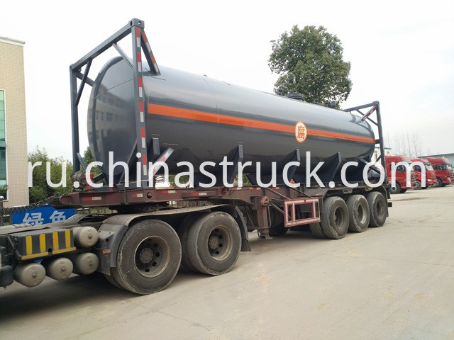 HCL acid tank container