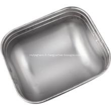 Mangeoires en acier inoxydable pour porcs truies / mères