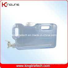 Tanque de água de plástico de 1.1 galão Atacado BPA grátis com Spigot (KL-8009)