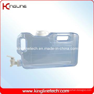 1.1 Gallon Plastic water tank Wholesale BPA Free with Spigot (KL-8009)